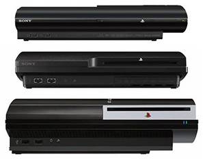 PS3 Console Models