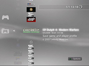 Call Of Duty 4 save data