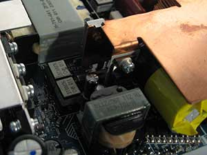 ps3 phat power supply close-up