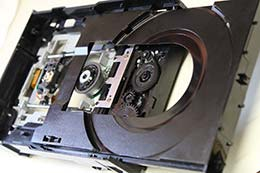 Xbox 360 jammed disc drive